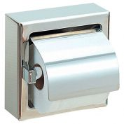 Polish finished STAINLESS STEEL toilet paper dispenser