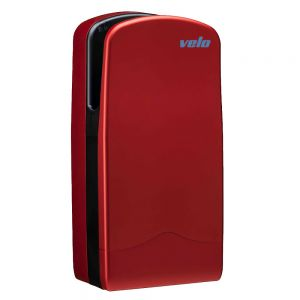 Velo Veltia Tri Blade Hand Dryer Ionshield - Red - 7 Year Warranty